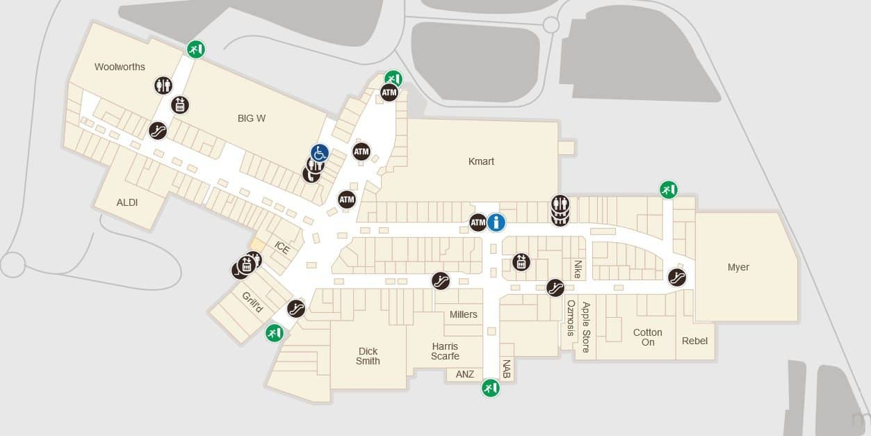 Westfield Fountain Gate Map Westfield Fountain Gate Map | compressportnederland Westfield Fountain Gate Map