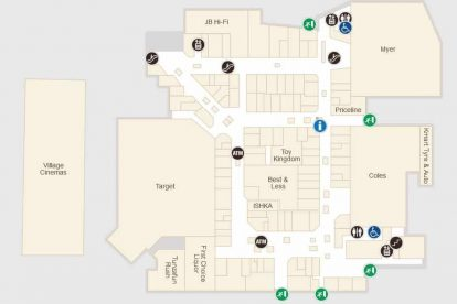 Fountain Gate Map Westfield Fountain Gate   Shopping Centre Stores & Hours