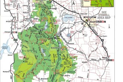 Grampians Map