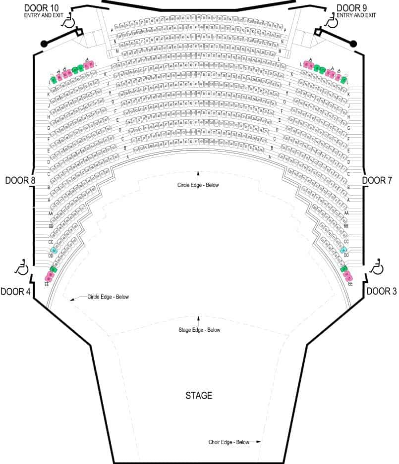 Hamer Hall Seating Plan Balcony