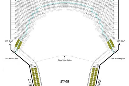 Hamer Hall Seating Plan Circle
