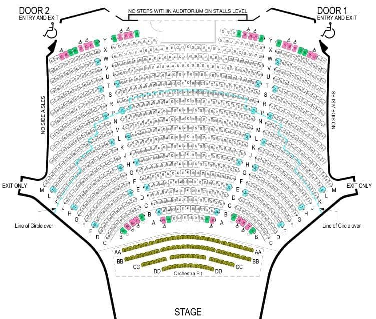 Arts Centre Melbourne State Theatre Seating Plan Art And