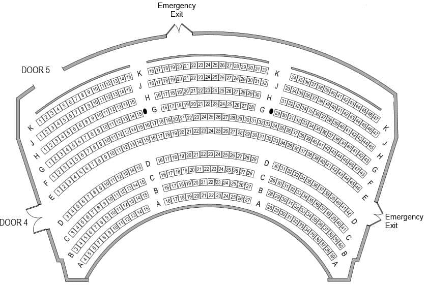 Her Majestys Theatre Seating Plan Dress Circle