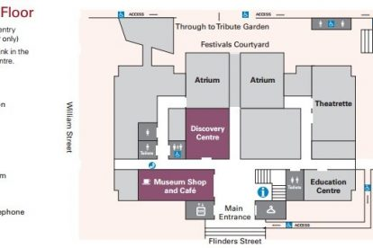 Immigration Museum Map 1
