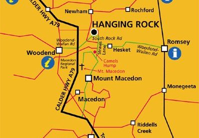 Macedon Ranges Map