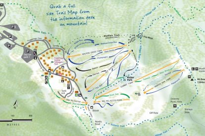 Mt Baw Baw Map