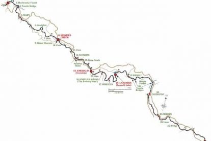 Puffing Billy Map