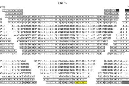 Regent Theatre Seating Plan Dress