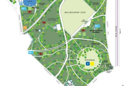 Royal Park Map