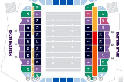 ammi park seating plan