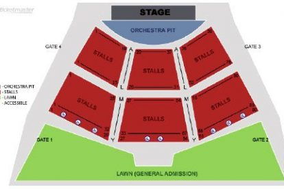 sidney myer music bowl seating plan