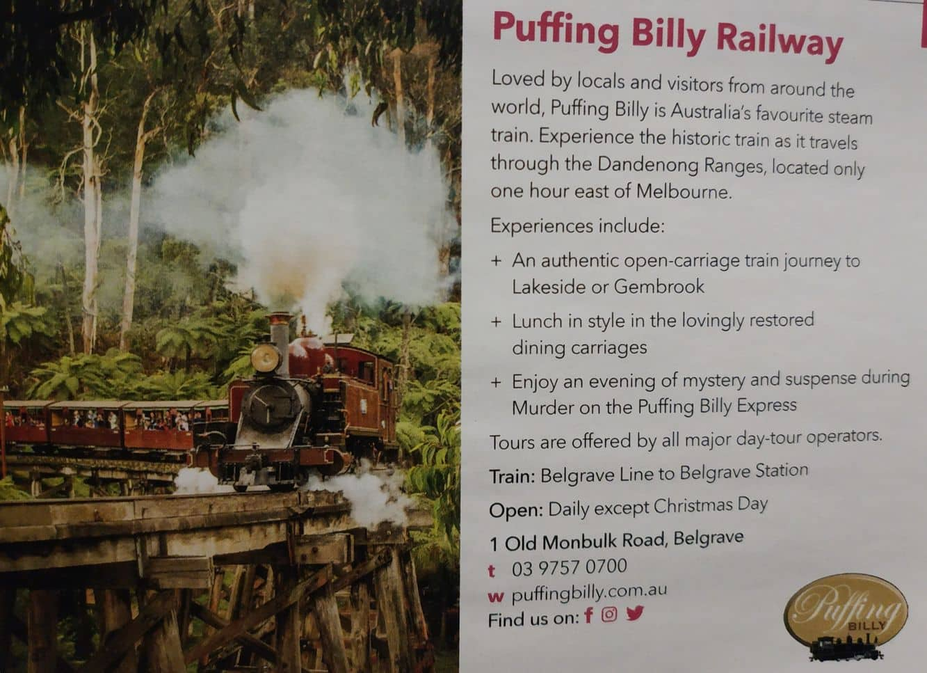 Puffing Billy 01