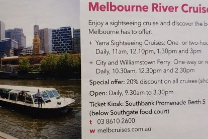 Melbourne River Cruises 01