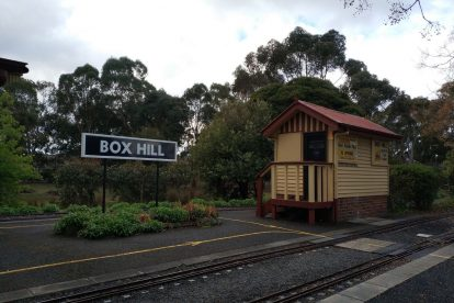 Box Hill Miniature Steam Railway 02