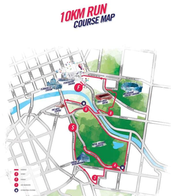 Run Melbourne 2018 Dates City Route Program Schedule