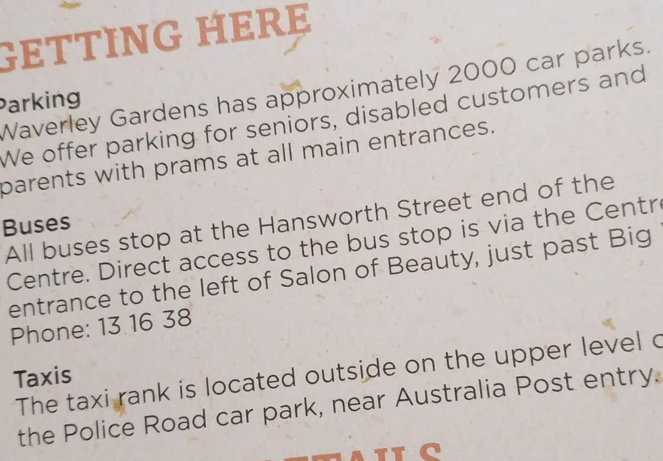 Waverley Gardens Shopping Centre 13