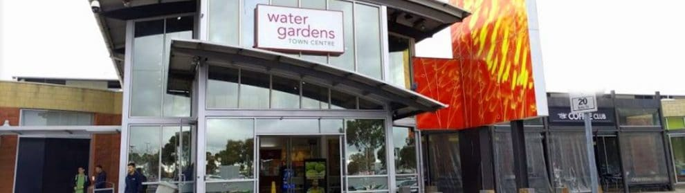 Watergardens Shopping Centre Store Opening Hours Parking Map