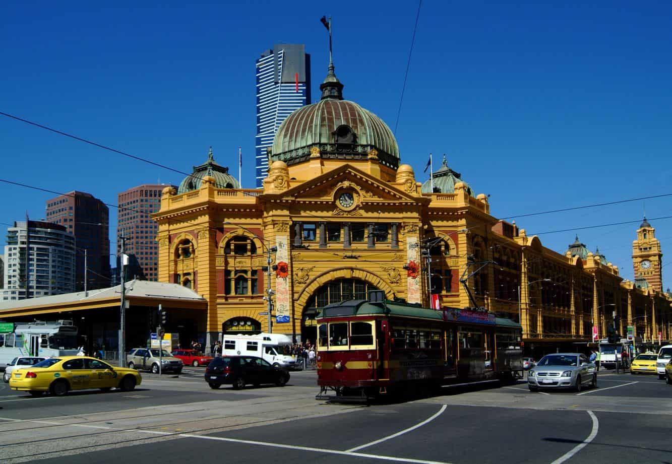 City Circle Tram Free Melbourne Tram CBD Route Map PDF Timetable