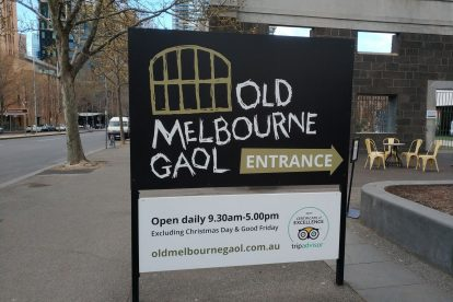 Old Melbourne Gaol 05