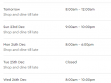 Westfield Southland Christmas Trading Hours