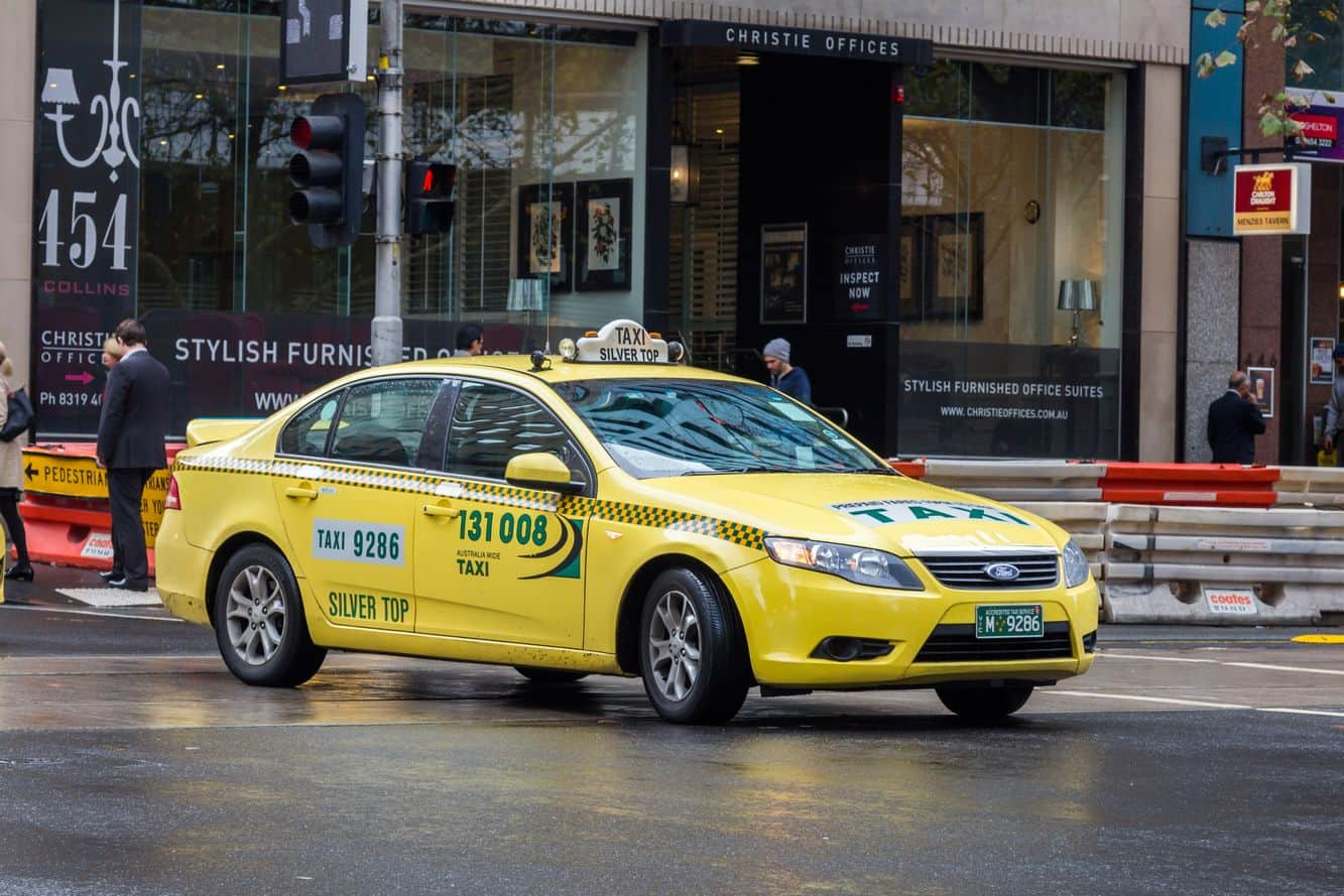 how to call a taxi in melbourne