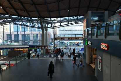 southern cross station 13