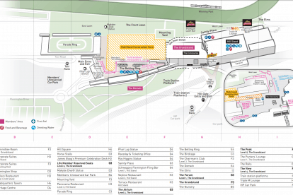 Oaks Day Map