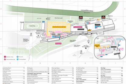 Racecourse Map