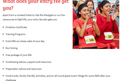 Entry Fee Benefits