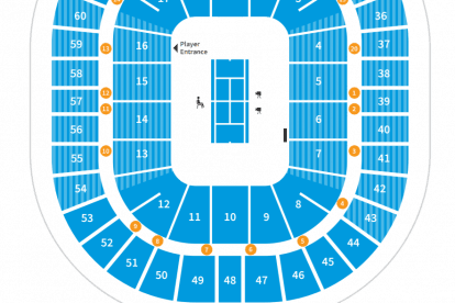 Rod Laver Arena Map