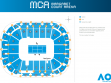 Margaret Court Arena Map
